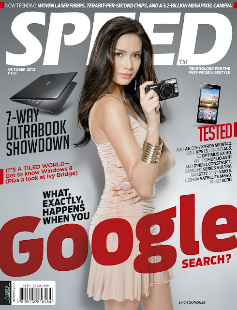 Erich Gonzales Covers SPEED Magazine October 2012 Issue