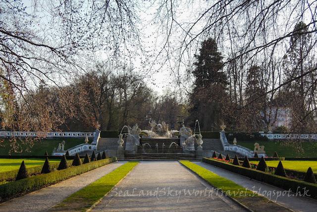 捷克, 克姆洛夫, Krumlov, 克姆洛夫城堡花園