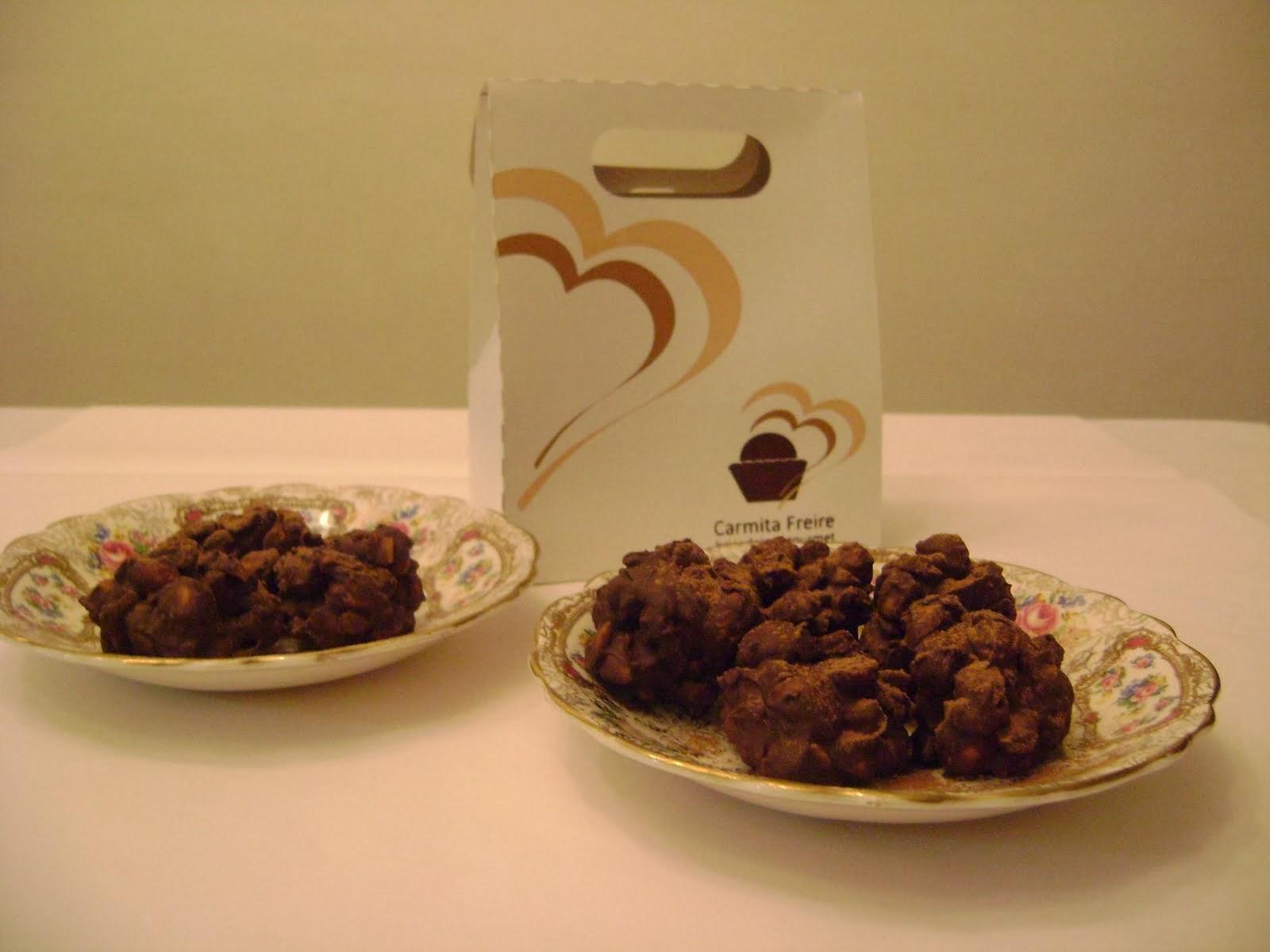 crispis de chocolate /avelãs /laranjinha