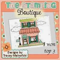 15-10 in de top 3 bij The Stamping Boutique
