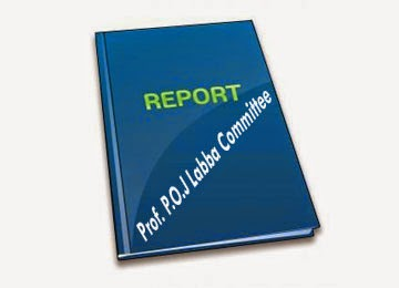 Prof. P.O.J Labba Committee Report