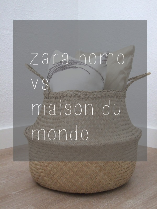 decoestilo12 cestas thailandesas zara home vs maison du monde. Black Bedroom Furniture Sets. Home Design Ideas