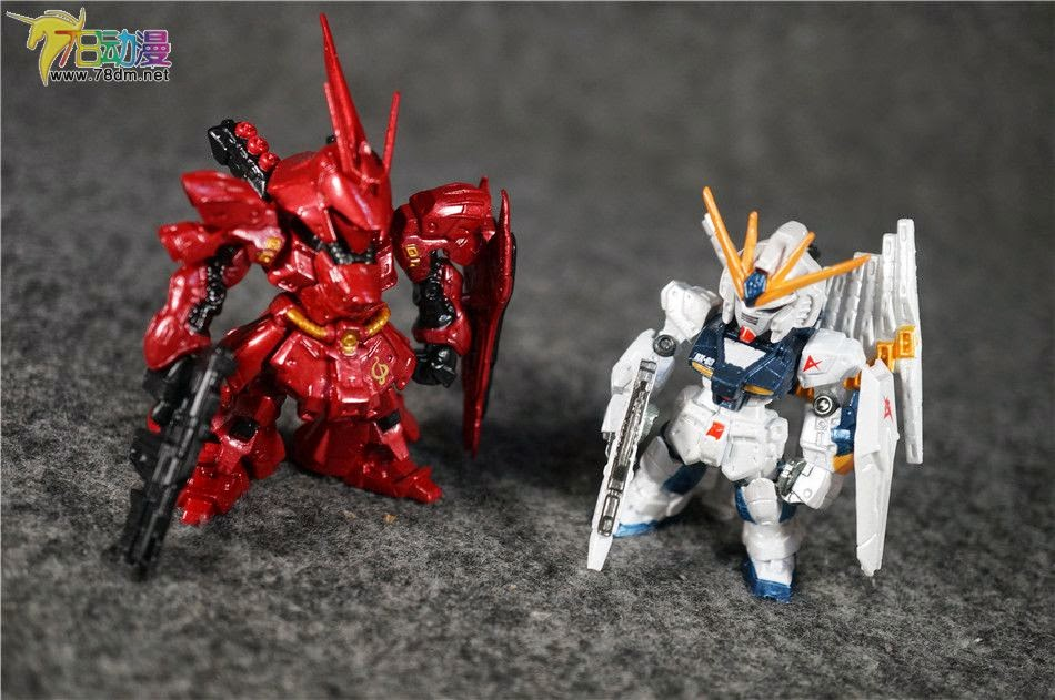 Nu Gundam vs Sazabi by YumaLightning on DeviantArt
