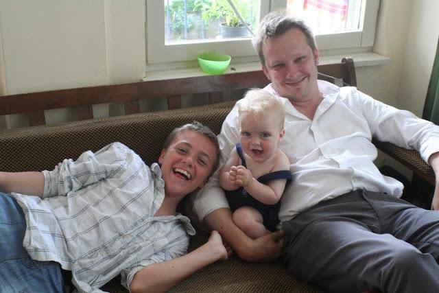 Ruskin, Anton and Ville