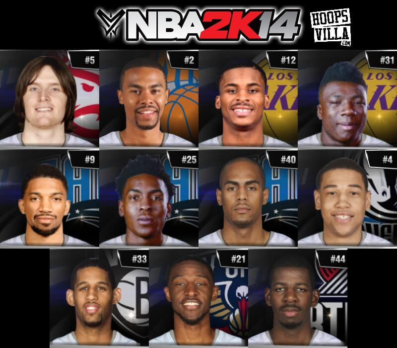 NBA 2k14 Roster update - August 6, 2017 - HoopsVilla
