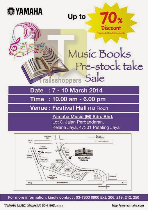 Yamaha Music Book Sale Kelana Jaya 1 Utama