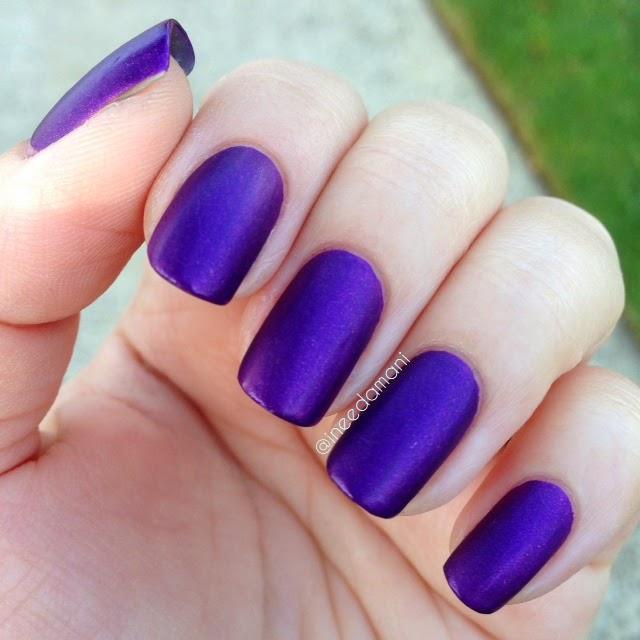 zoya savita matte velvet nail polish swatch