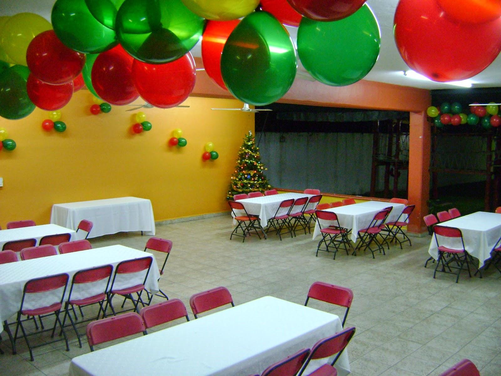 B chame el mejor sal n de fiestas en canc n for Decoracion de salon navideno