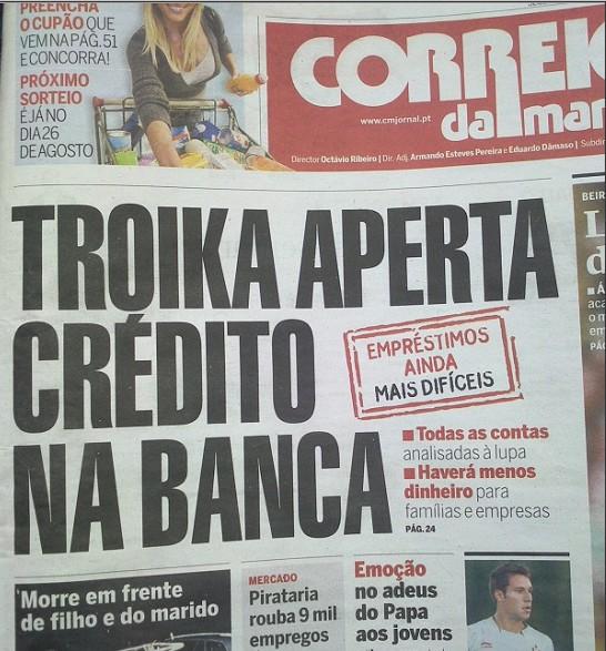 Troika vai analisar contas bancárias à Lupa