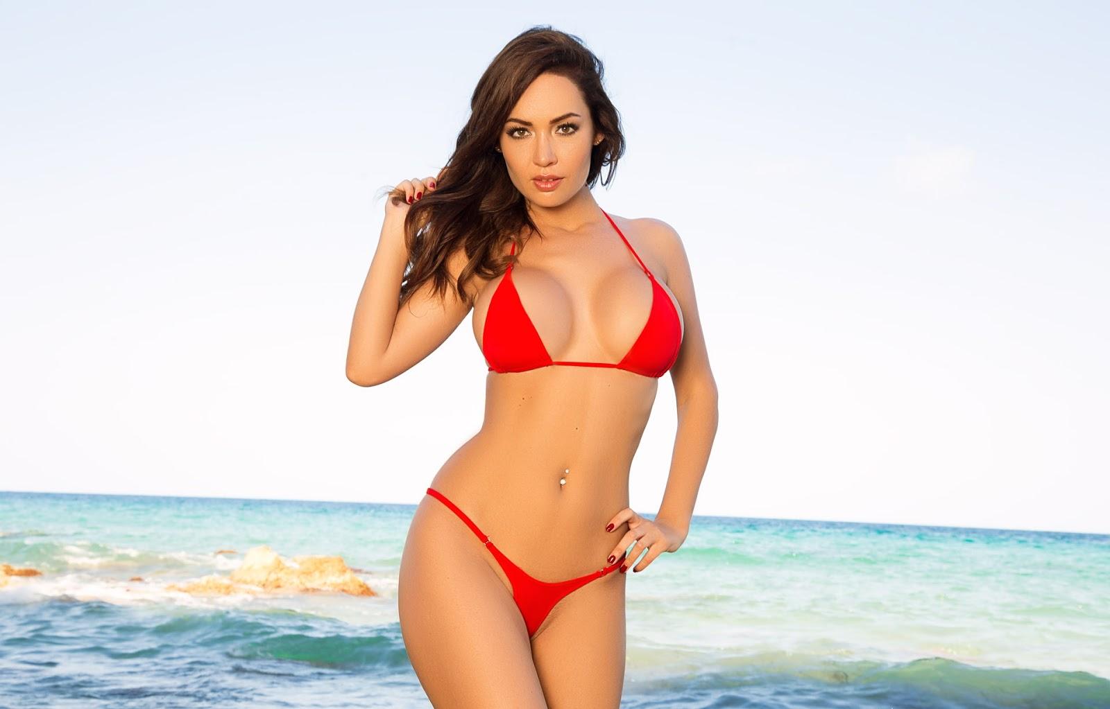 striptease solo playboy girls adrienn levai in sandy booty