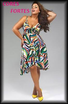 imagens de vestidos para gordinhas