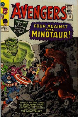Avengers #17, the Minotaur