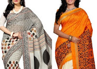 Indianroots :Buy Women's Embroided, Silk, Georgette, Sarees And  More at Flat 70% off