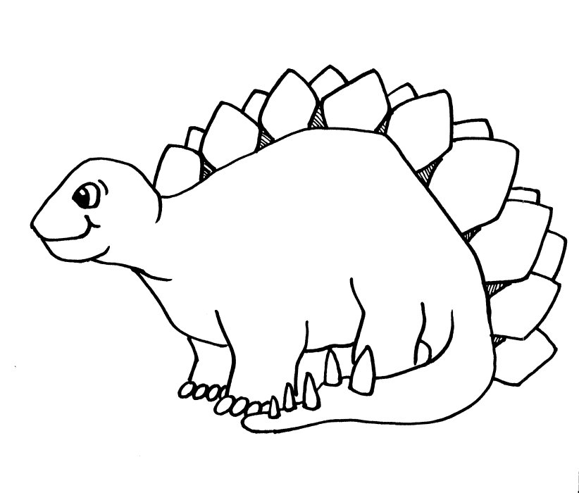 dinasaur coloring pages - photo#4