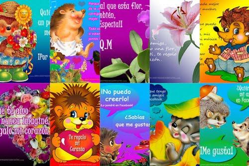 10 postales para Facebook de Amor y Amistad I