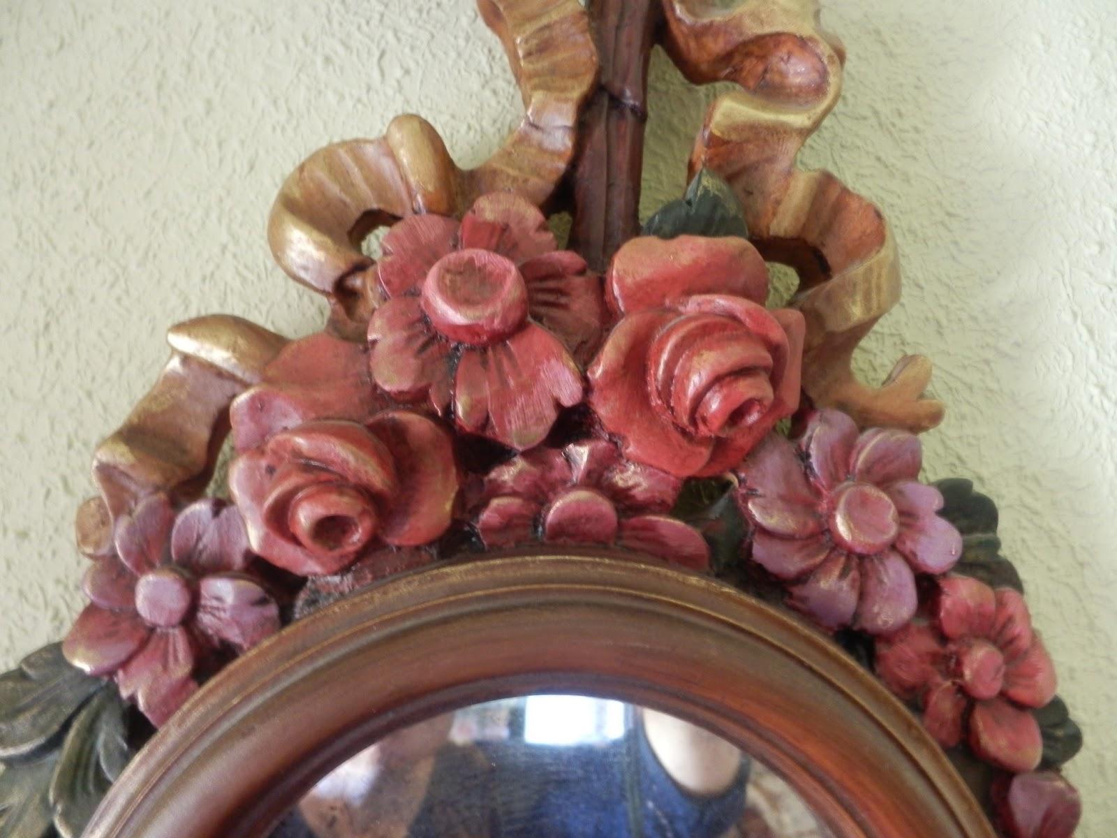 Decoraciones el trastolillo espejo con marco de resina - Espejos de resina ...