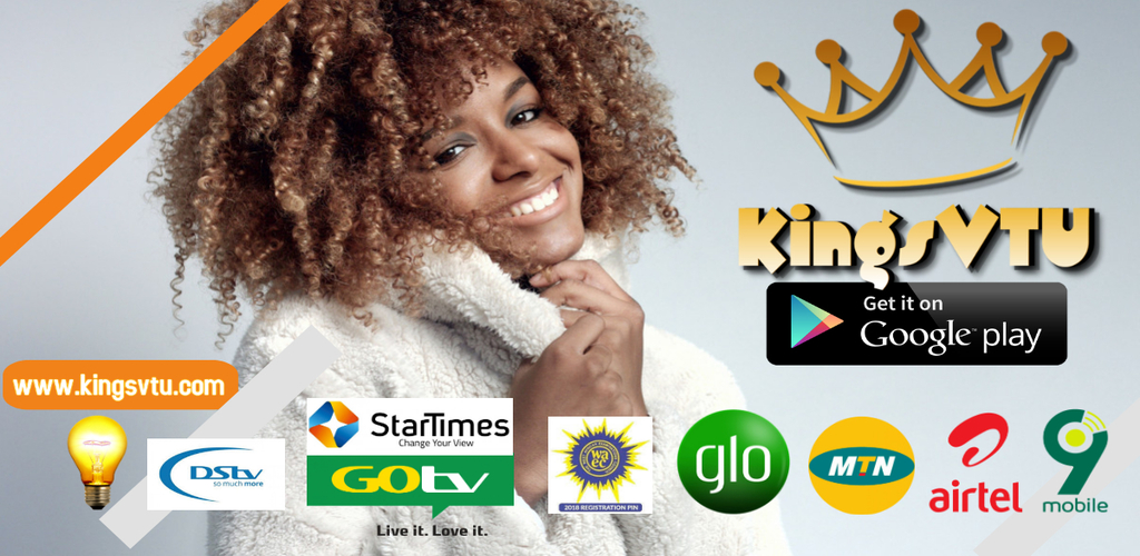 Download KingsVTU app