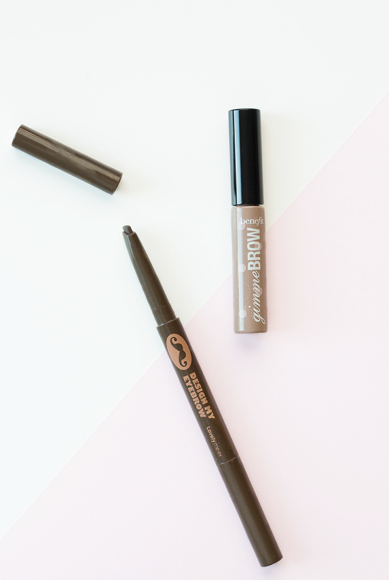 The best eye brow products from The Face Shop and Benefit