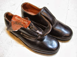 50's DEAD STOCK フラップ付き(SHU-LOK TALON) SHOES