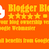 How to Verify your Blog or Site ownership at Google Webmaster