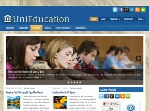 UniEducation - Free Wordpress Theme