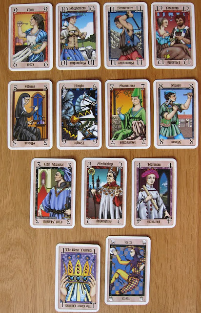 The Great Dalmuti cards