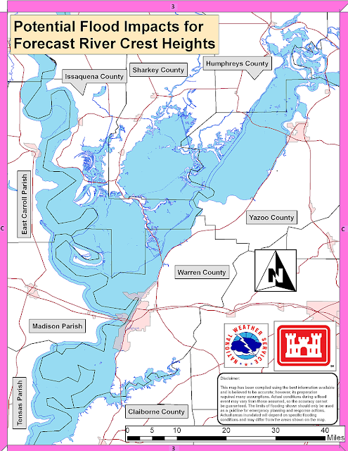 The K5jaw Blog Ms River Flooding Map Updates