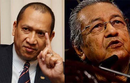 Mahathir dicabar Nazri tanding kerusi Pekan