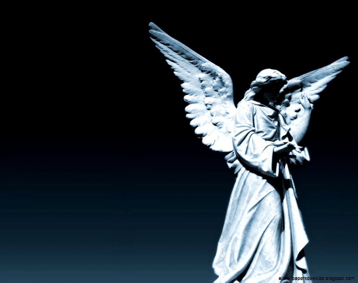 statue angel wings hd wallpaper all wallpapers desktop