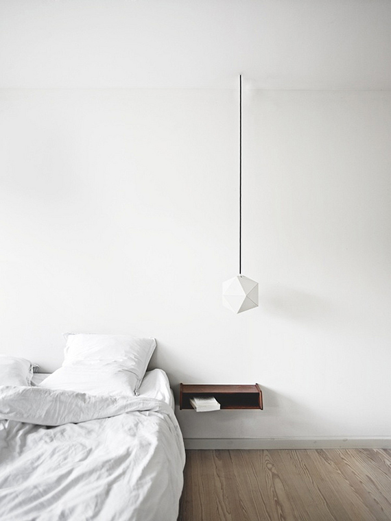 White bedroom to make you dream | Home of Architect Pernille Arends