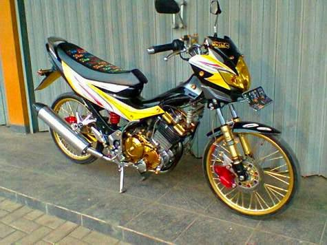 Download foto modifikasi Satria FU