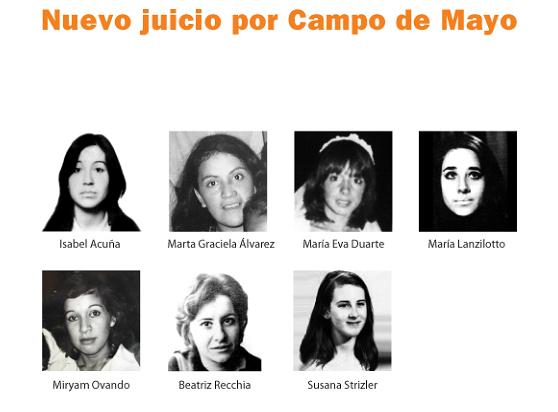 Nuevo juicio por Campo de Mayo