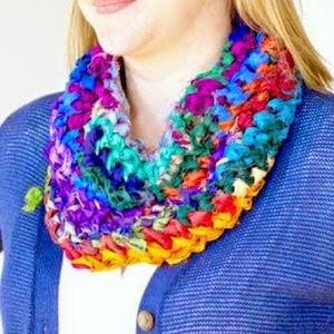 Gratis breipatroon sari zijde sjaal