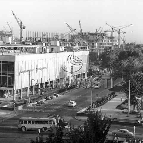 ЦУМ, Ташкент, старое фото