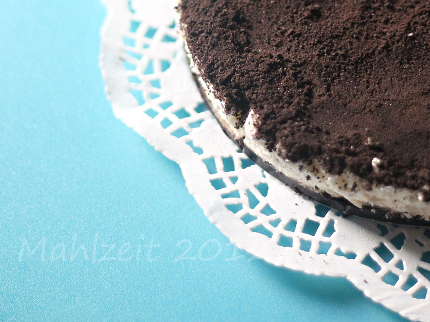 Oreo Cookie Cake – More like Oreo cheesecake