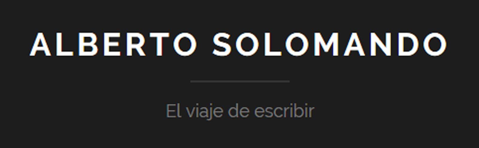 ALBERTO SOLOMANDO