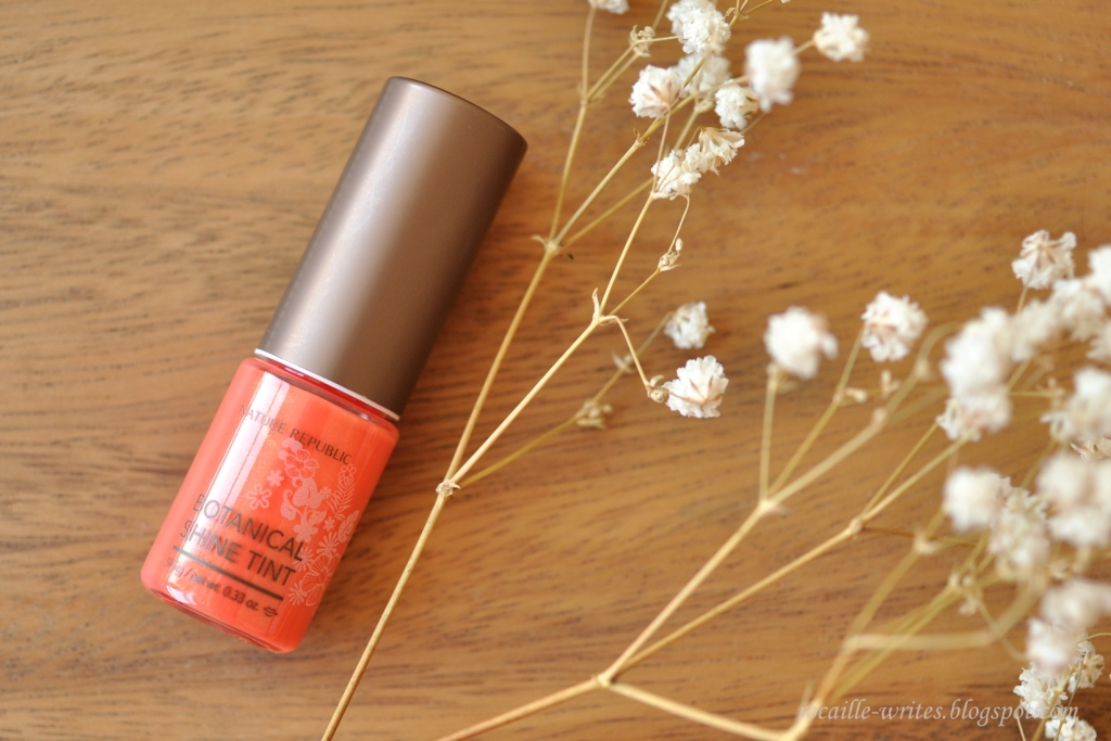 Easy (on the) Orange: Nature Republic Botanical Shine Lip Tint no. 3