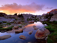 Beautiful Wind River Range,USA