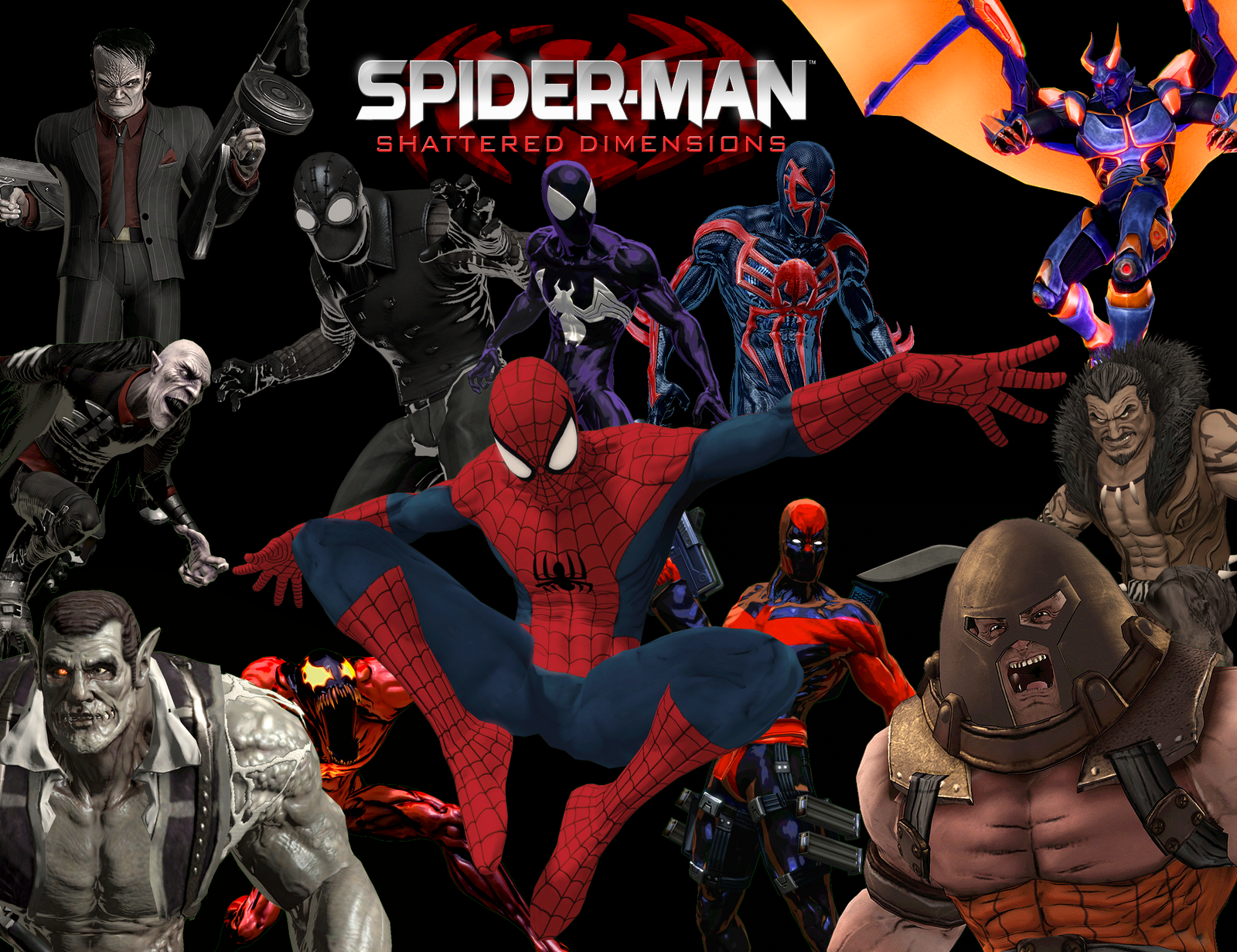 PC Game] Spiderman Shattered Dimensions RELOADED ~ Future For Smart ...