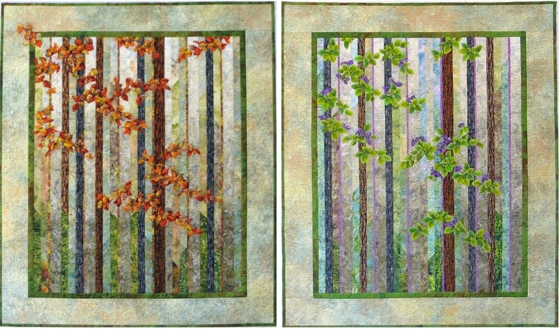 Cathy Geier's Quilty Art Blog: Lecture/Workshops : landscape quilt patterns - Adamdwight.com