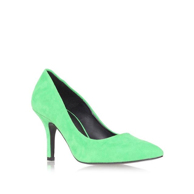 green kurt geiger shoes