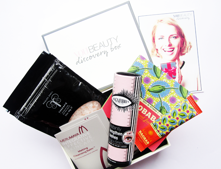 A picture of You Beauty Discovery Box - October 2014 review