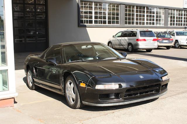 1993 Acura NSX.