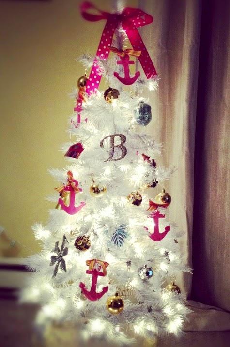 Small Pre Lit Pink Christmas Tree