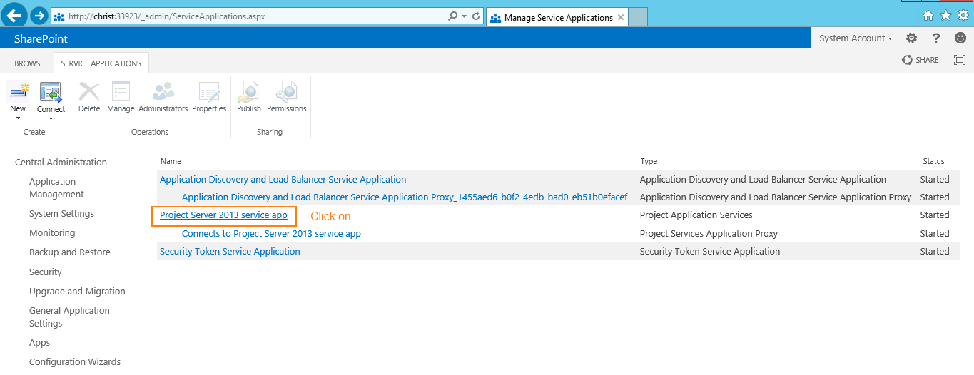 how to use project server 2013
