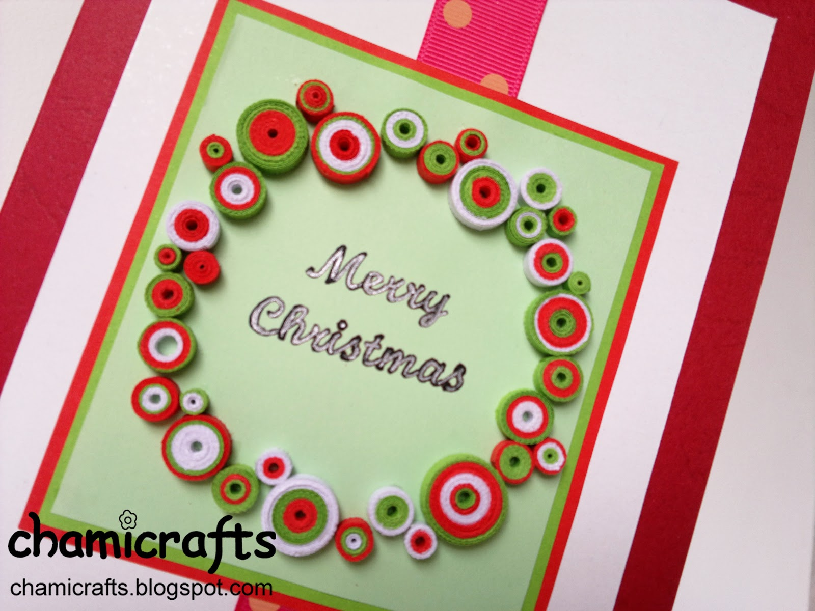 Chami Crafts Handmade Greeting Cards Christmas Combo 1