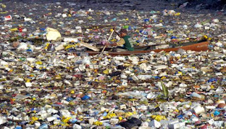 Ocean plastic doesn't look like this