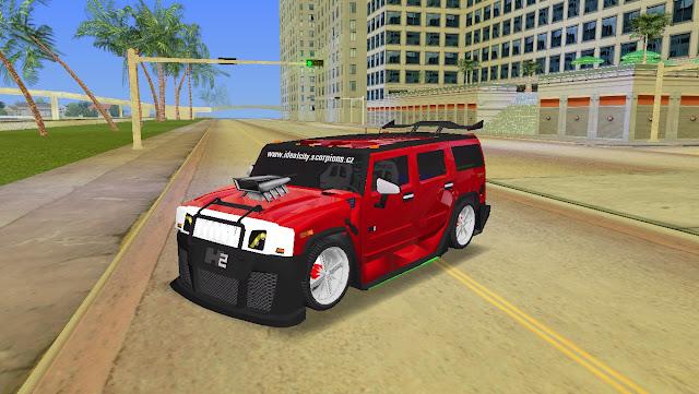 AMG Hummer H2 Hard Tuning - GTA Vice City