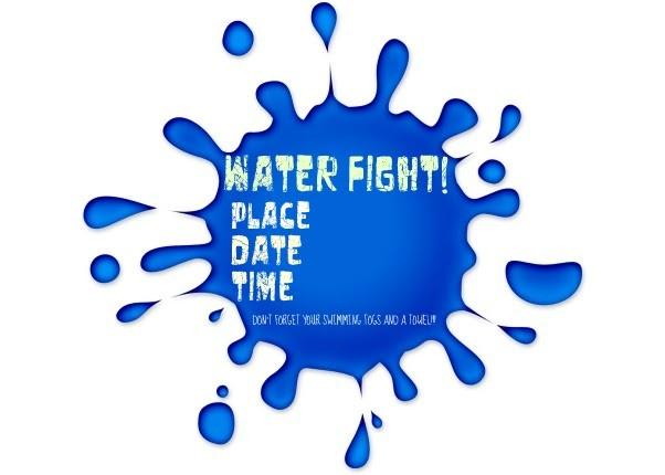 Yvonne Byatt's Family Fun: WATER (FIGHT) PARTY IDEAS