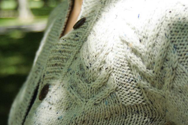 One Crafty Mama Antler Cardigan Sweater 7